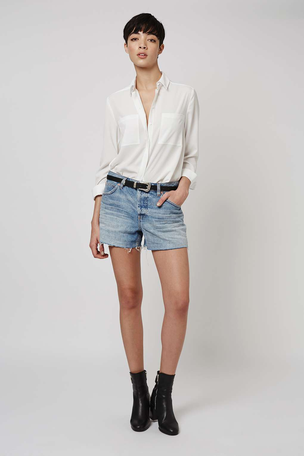 Topshop Ashley Boyfriend Shorts (£28)