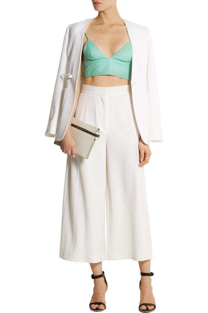 T by Alexander Wang Leather Bra Top ($178)