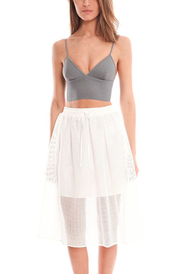 Clover Canyon Solid Bra Top ($125)