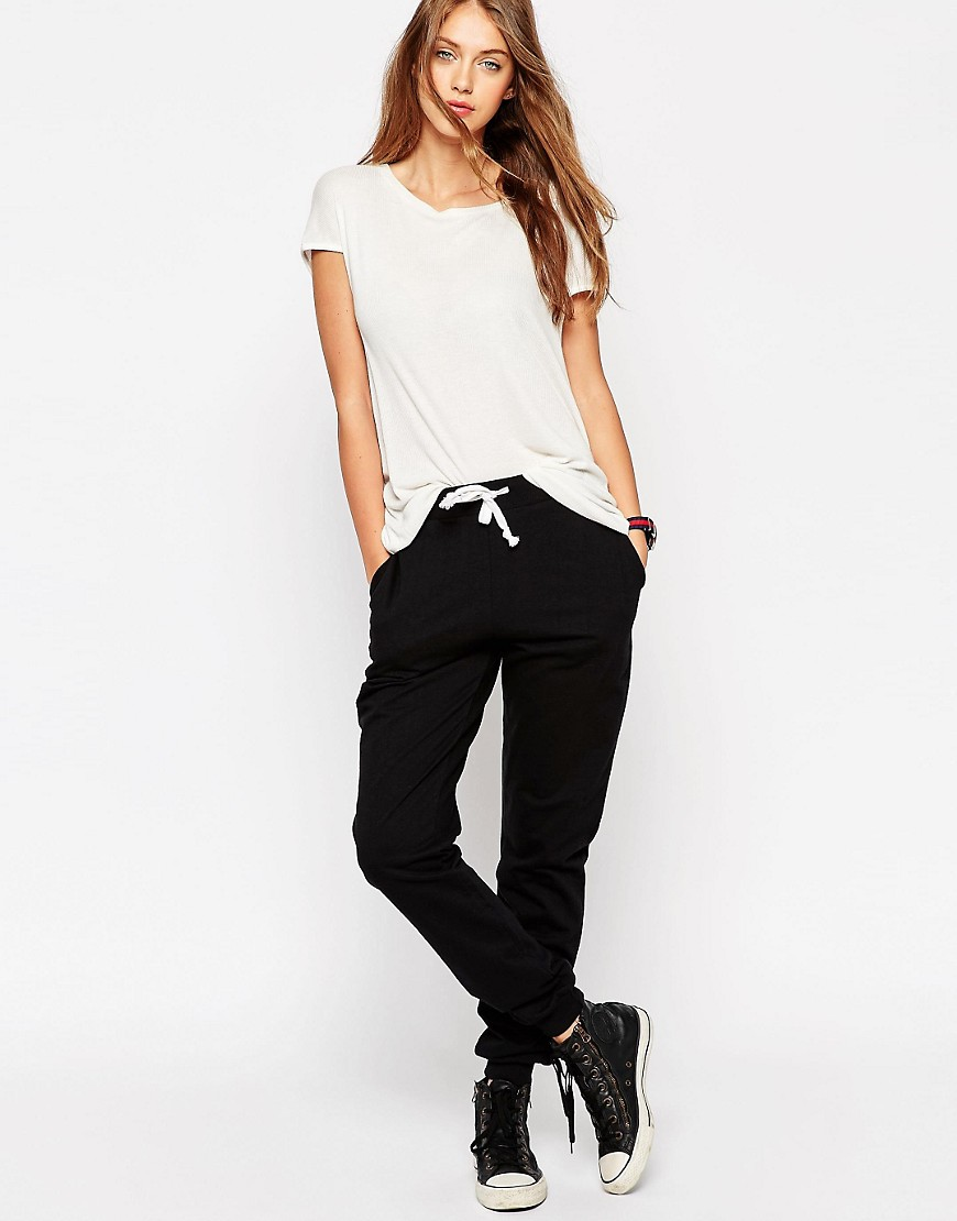ASOS Basic Joggers with Contrast Tie $30