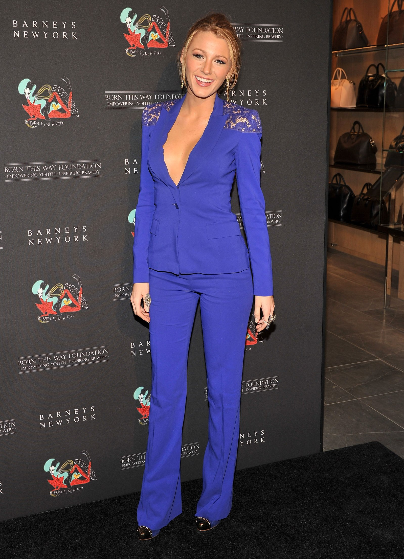Blake Lively at Opening of Gaga's Workshop in New York