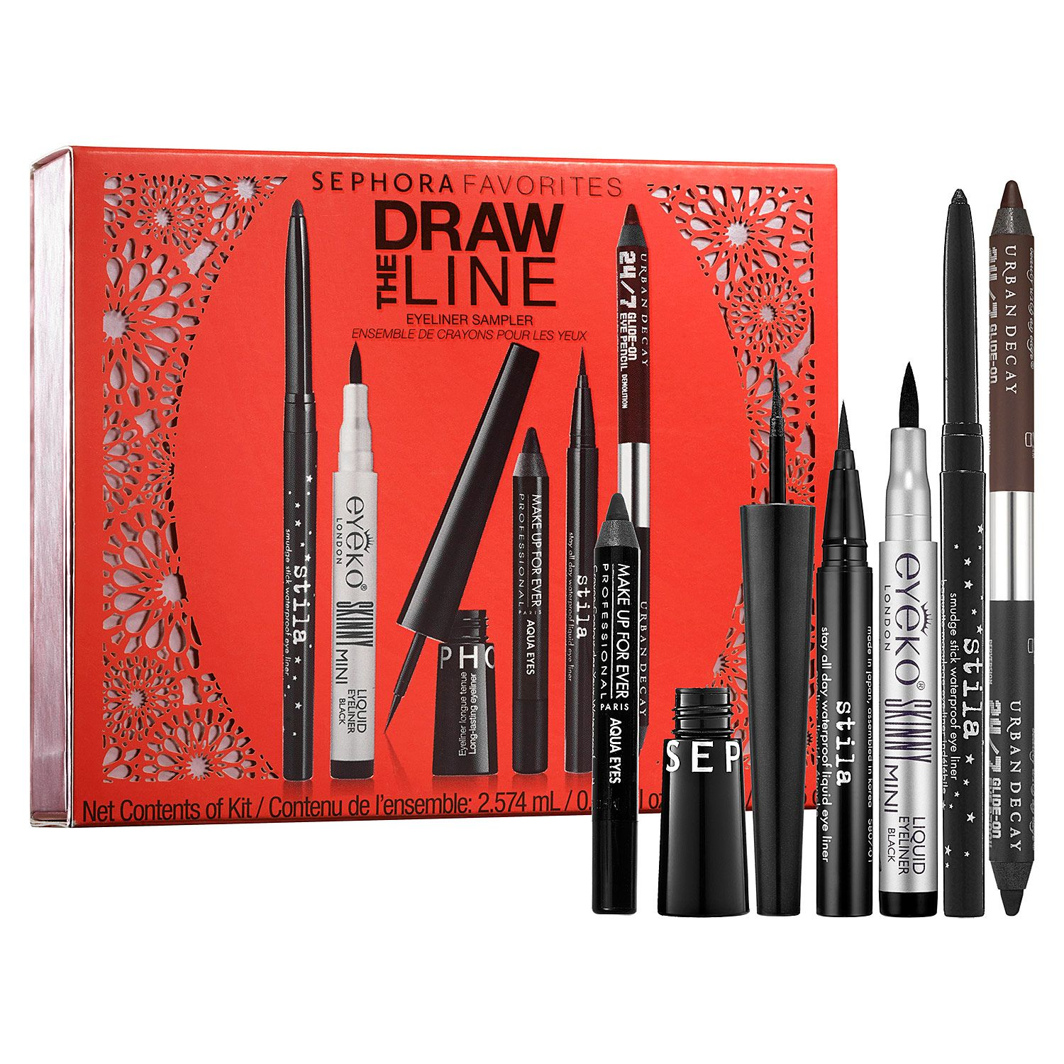 Sephora Draw the Line Eyeliner Collection