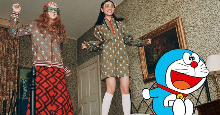 Gucci & Doraemon Special Collection for Chinese New Year 2021